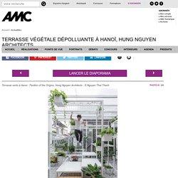 Terrasse végétale dépolluante à Hanoï, Hung Nguyen Architects