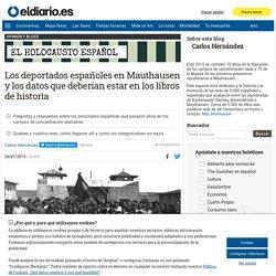 Los deportados españoles en Mauthausen y los datos que deberían estar en los libros de historia