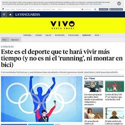 Este es el deporte que te hará vivir más tiempo (y no es ni el 'running', ni ...