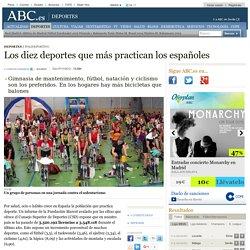 Los diez deportes que más practican los españoles