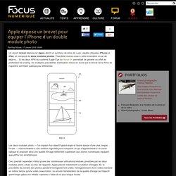 Apple dépose un brevet pour équiper l'iPhone d'un double module photo