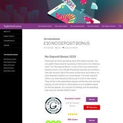 What Different Types of No Deposit Bonus?