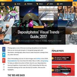 Depositphotos' Visual Trends Guide, 2017