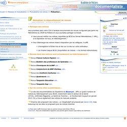 Mutualiser le dépouillement de revues- Les Enseignants Documentalistes de l'Académie de Poitiers