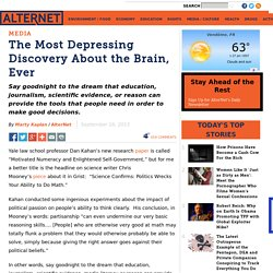 The Most Depressing Discovery About the Brain, Ever