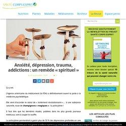 Anxiété, dépression, trauma, addictions : un remède «spirituel» – Santé Corps Esprit