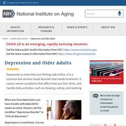 Depression and Older Adults