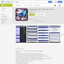 Depression CBT Self-Help Guide - Android Apps on Google Play