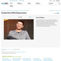 Depression: Celebrities Who Struggled With Sadness in Pictures