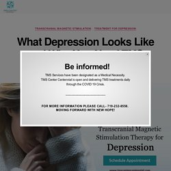What Depression Looks Like and Why You Need TMS