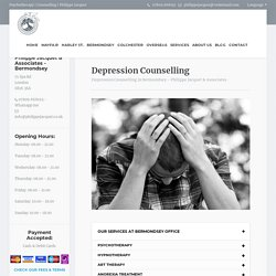 depression therapy London