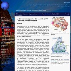 Dépression dopamino-dépendante et L-tyrosine
