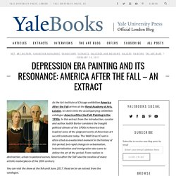 America After the Fall at the Royal Academy: Depression Era PaintingYale University Press London Blog