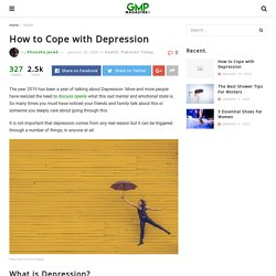 How to Cope with Depression – Good Morning Pakistan Magazine