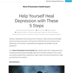 Help Yourself Heal Depression with These 5 Steps