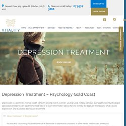 Depression Treatment and Psychologist in Gold Coast