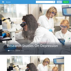 Research Studies On Depression
