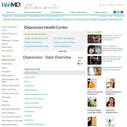 Depression-Topic Overview