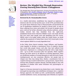 the mindful way through depression pdf