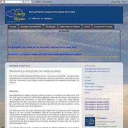 Info Meteo: Dépressions et anticyclones, les maîtres du temps