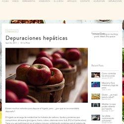 Depuraciones hepáticas