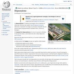 Depurazione wikipedia