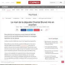 Le mari de la députée Chantal Brunel mis en examen
