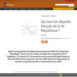 Qui sont les députés français de la Ve République ?