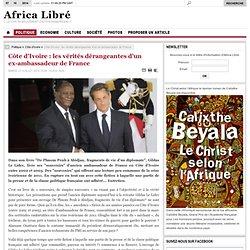 Confessions Gildas Le Lidec ambassadeur de France 2002-2005