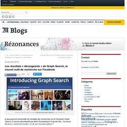 Les résultats «dérangeants» de Graph Search, le nouvel outil de recherche sur Facebook