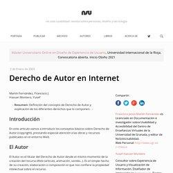 Derecho de Autor en Internet