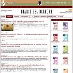Diario del Derecho - Edición de 09/05/2016 - Actualidad