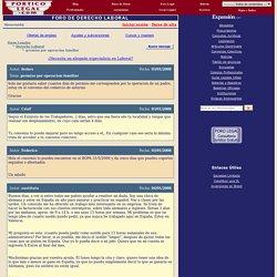 Foros de Derecho: permiso por operacion familiar