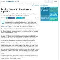 Los derechos de la educación en la Argentina - 27.02.2014