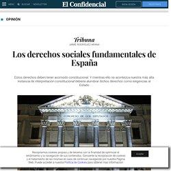 Los derechos sociales fundamentales de España. Blogs de Tribuna