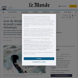 Jour du dérèglement: à compter du jeudi 5mars, la France a une dette climatique