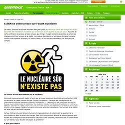 L'ASN se voile la face sur l'audit nucléaire