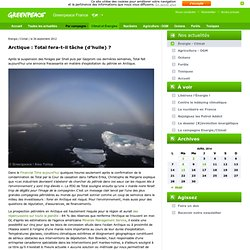 Arctique: Total fera-t-il tâche (d'huile) ?