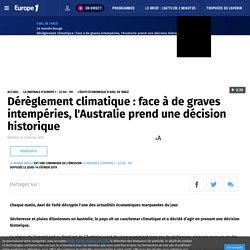 Dérèglement climatique : face à de graves intempéries, l'Australie prend une décision historique