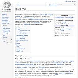 Derek Wall