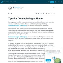 Tips For Dermaplaning at Home : flirtcosmetics — LiveJournal
