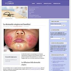 La dermatite atopica nei bambini