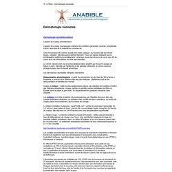 ANABIBLE - Dr Michels - Dermatologie néonatale (Impression)