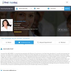 Dr. Jeannette Graf , Dermatologist in Great Neck, New York - FindATopDoc