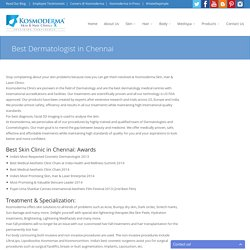 Best Dermatologist in Chennai
