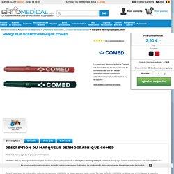 Marqueur dermographique, un matériel utile en chirurgie à 2,90€