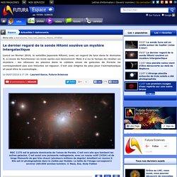 Le dernier regard de la sonde Hitomi soulève un mystère intergalactique