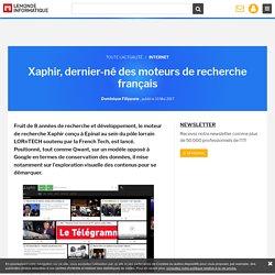 Xaphir, dernier-né des moteurs de recherche français