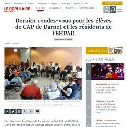 Dernier rendez-vous pour les élèves de CAP de Darnet et les résidents de l'EHPAD - Saint-Yrieix-la-Perche (87500)