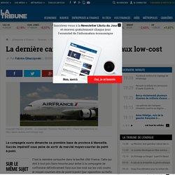 La dernière carte d'Air France face aux low-cost